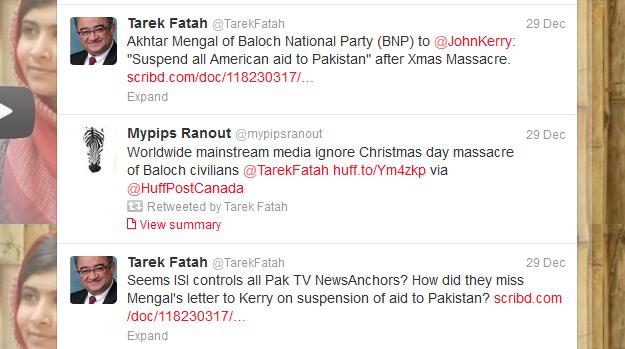 Overt support of Baloch terrorism 29.12.2012 - 1